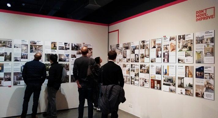 'Don't Move, Improve!' exhibition
